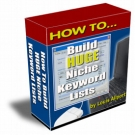 How To Build HUGE Niche Keyword Lists Private Label Rights