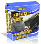 Private Label Article Pack : Internet Biz Articles Private Label Rights