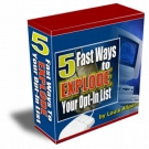 5 Fast Ways To EXPLODE Your Opt-In List Private Label Rights
