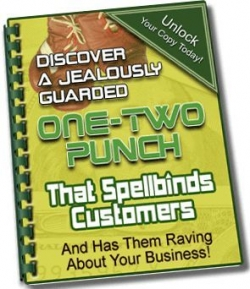 One-Two Punch That Spellbinds Customers
