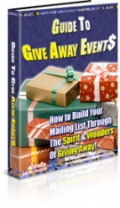 Guide To Give Away Events Private Label Rights