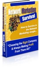 Network Marketing Survival Private Label Rights