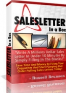 SalesLetter In A Box Private Label Rights