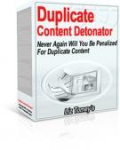Duplicate Content Detonator Private Label Rights
