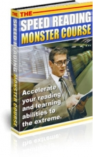 The Speed Reading Monster Course Private Label Rights