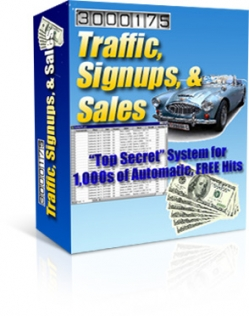 Traffic, Signups, & Sales