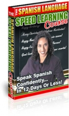 The Spanish Language Speed Learning Course Private Label Rights