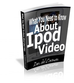 What You Need to Know About iPod Video