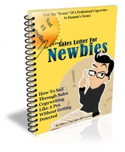 Sales Letter For Newbies