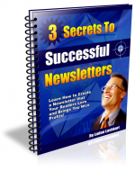 3 Secrets To Successful Newsletters Private Label Rights