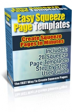 Easy Squeeze Page Templates