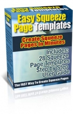 Easy Squeeze Page Templates Private Label Rights