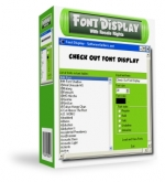 Font Display with Resale Rights Private Label Rights