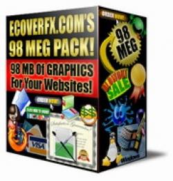 ECoverFX.com 98 Meg Graphic Pack!