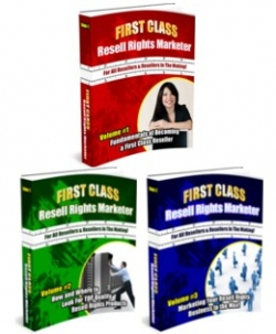 First Class Resell Rights Marketer Series