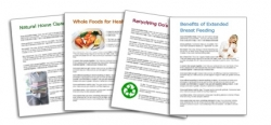 20 Health Articles Pack