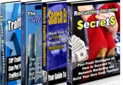 Full PLR Pack Of 4 eBooks