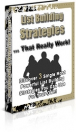 List Building Strategies That Really Work Private Label Rights
