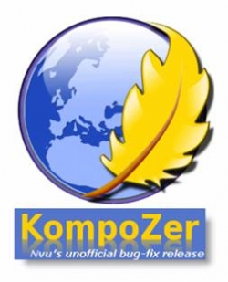 Create Websites Using KompoZer