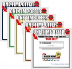 One Time Offer Templates V3 Private Label Rights