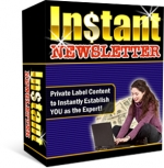 Instant Newsletter Private Label Rights