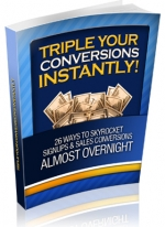 Triple Your Conversions Instantly! Private Label Rights