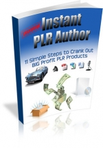 Instant PLR Author Private Label Rights