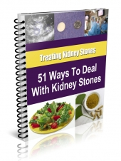 51 Tips for Dealing with Kidney Stones Private Label Rights