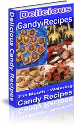 Delicious Candy Recipes Private Label Rights