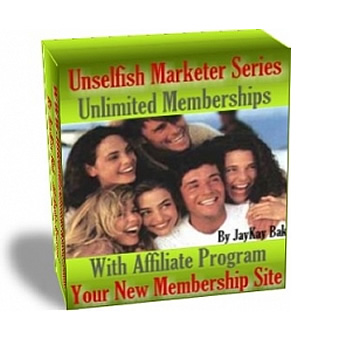 Unlimited Memberships - Your New Membership Site
