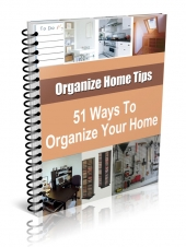 51 Ways To Organize Your Home Private Label Rights