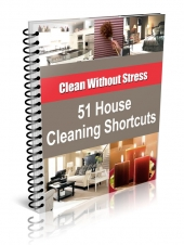 51 House Cleaning Shortcuts Private Label Rights