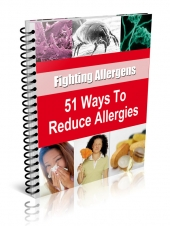 51 Ways to Reduce Allergies Private Label Rights