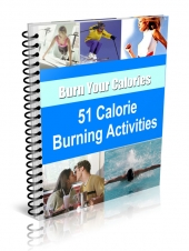51 Calorie Burning Activities Private Label Rights