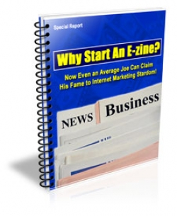 Why Start An E-zine?
