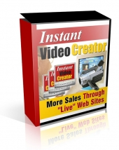 Instant Video Creator Private Label Rights