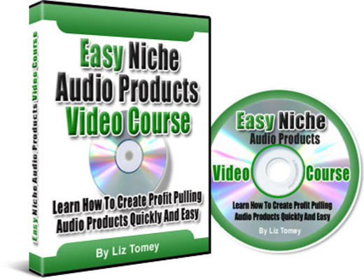 Easy Niche Audio Products Video Course