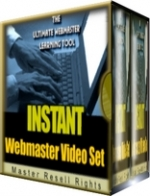 Instant Webmaster Video Set Private Label Rights