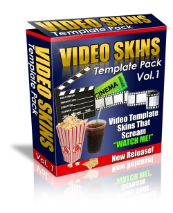 Video Skins Template Pack : Vol.1