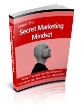 Learn The Secret Marketing Mindset Private Label Rights