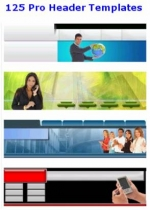 125 Pro Header Templates Private Label Rights