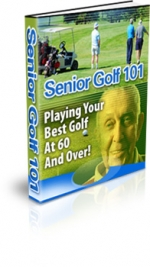 Senior Golf 101 Private Label Rights