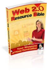 Web 2.0 Resource Bible Private Label Rights