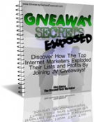 Giveaway Secrets Exposed Private Label Rights