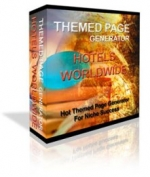 Themed Page Generator - Hotels Worldwide Private Label Rights
