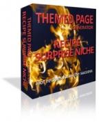 Themed Page Generator - Recipe Surprise Niche Private Label Rights