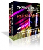 Themed Page Generator - Restaurants Private Label Rights