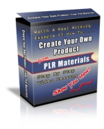 Create Your Own Product From PLR Materials Private Label Rights