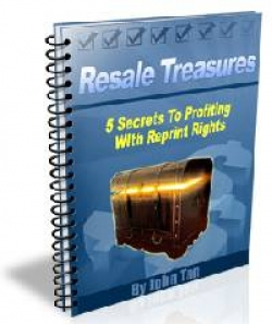 5 SECRETS TO PROFITING WITH REPRINT RIGHTS