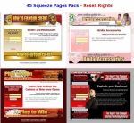 45 Squeeze Pages Pack Private Label Rights